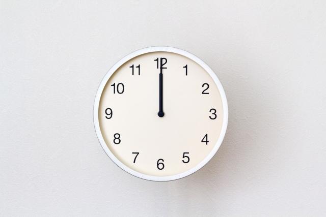 正午は「午前12時」?「午後0時」?   RadiChubu-ラジチューブ-