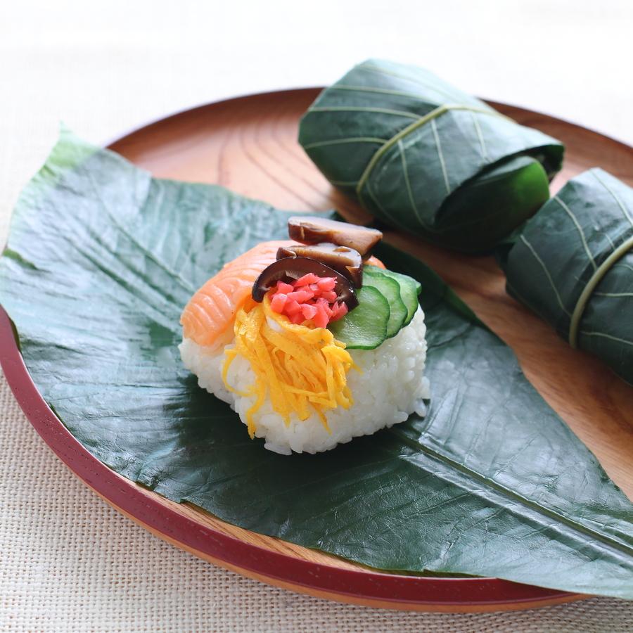 朴 葉 寿司 の 作り方